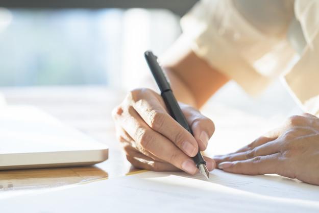 Przekreślenia, zmiany i poprawki na testamencie